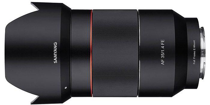 Samyang lanza un 35mm ultraluminoso y una lens station para actualizar sus lentes
