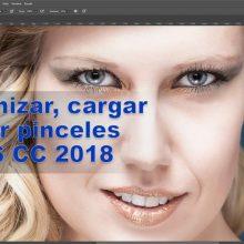 Tutorial: organizar, cargar y usar pinceles en Photoshop CC 2018