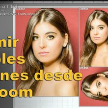 Tutorial de Lightroom: plantillas para imprimir múltiples copias de retratos en una sola hoja