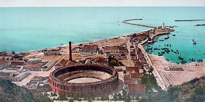 Málaga desde sus atalayas, la fotografía panorámica desde el siglo XIX