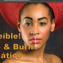 Tutorial: dodge y burn (aclarado y oscurecido) automático para retrato con Photoshop
