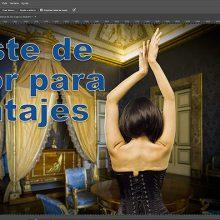 Tutorial de Photoshop: igualar colores para montar un sujeto sobre un fondo