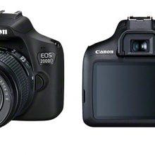 EOS 2000D y EOS 4000D, Canon renueva su oferta de entrada en la fotografía réflex