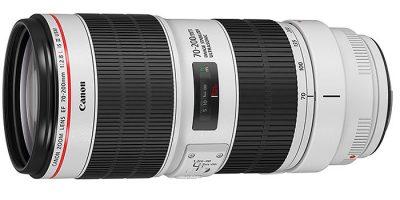 Canon renueva sus objetivos 70-200 mm profesionales