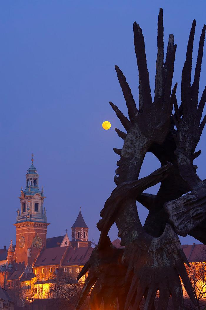 Fotografiar la luna y eclipses de luna, luna roja