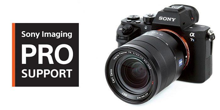 Sony lanzará en España una versión limitada de su servicio Imaging Pro Support