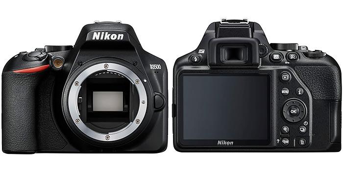 Nikon D3500_front-