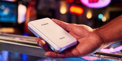 Canon Zoemini, una impresora portátil sin tinta para usar desde el móvil