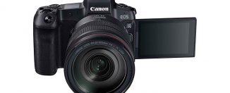 Canon EOS R sin espejo de formato completo