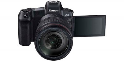 Nueva EOS R, la cámara sin espejo de formato completo de Canon