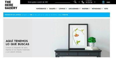 ¿Quieres vender tus fotografías? The Here Gallery te ayuda