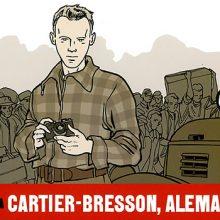 Exquisita novela gráfica sobre Cartier Bresson en la II Guerra Mundial