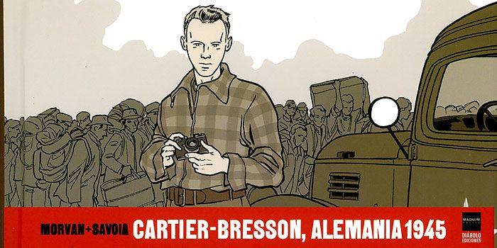 Cartier-Bresson novela gráfica