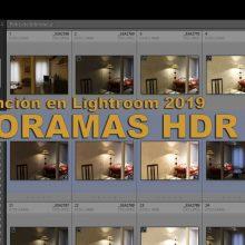 Tutorial: cómo hacer panoramas HDR con Lightroom CC 2019