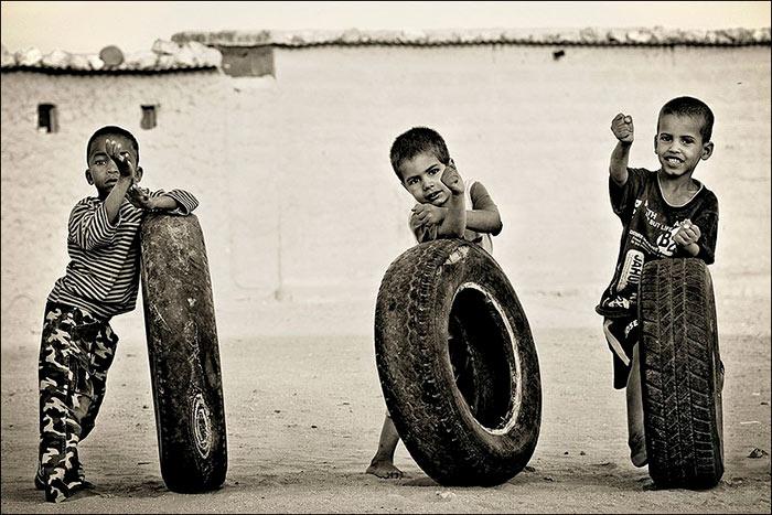 El neumático en positivo
