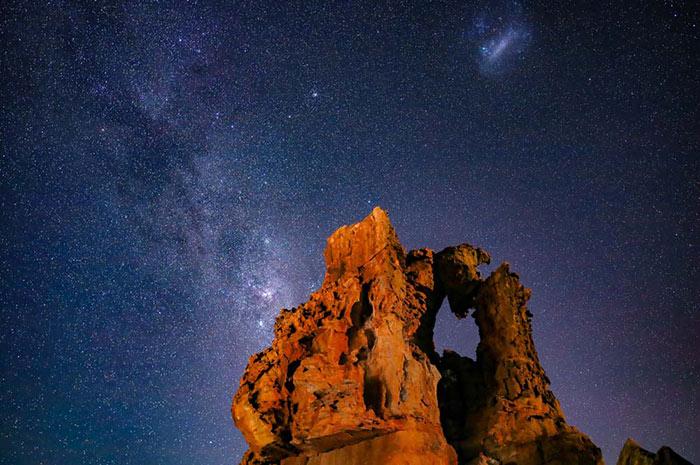 fotografiar lluvia de estrellas