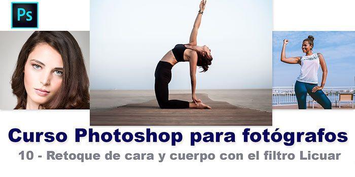 Curso de Photoshop - Filtro licuar