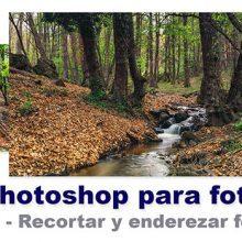 Curso de Photoshop 9 - Recortar fotos y recortar con perspectiva