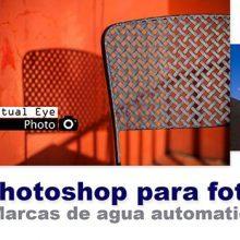 Curso de Photoshop 13 -Añadir marcas de agua con Photoshop