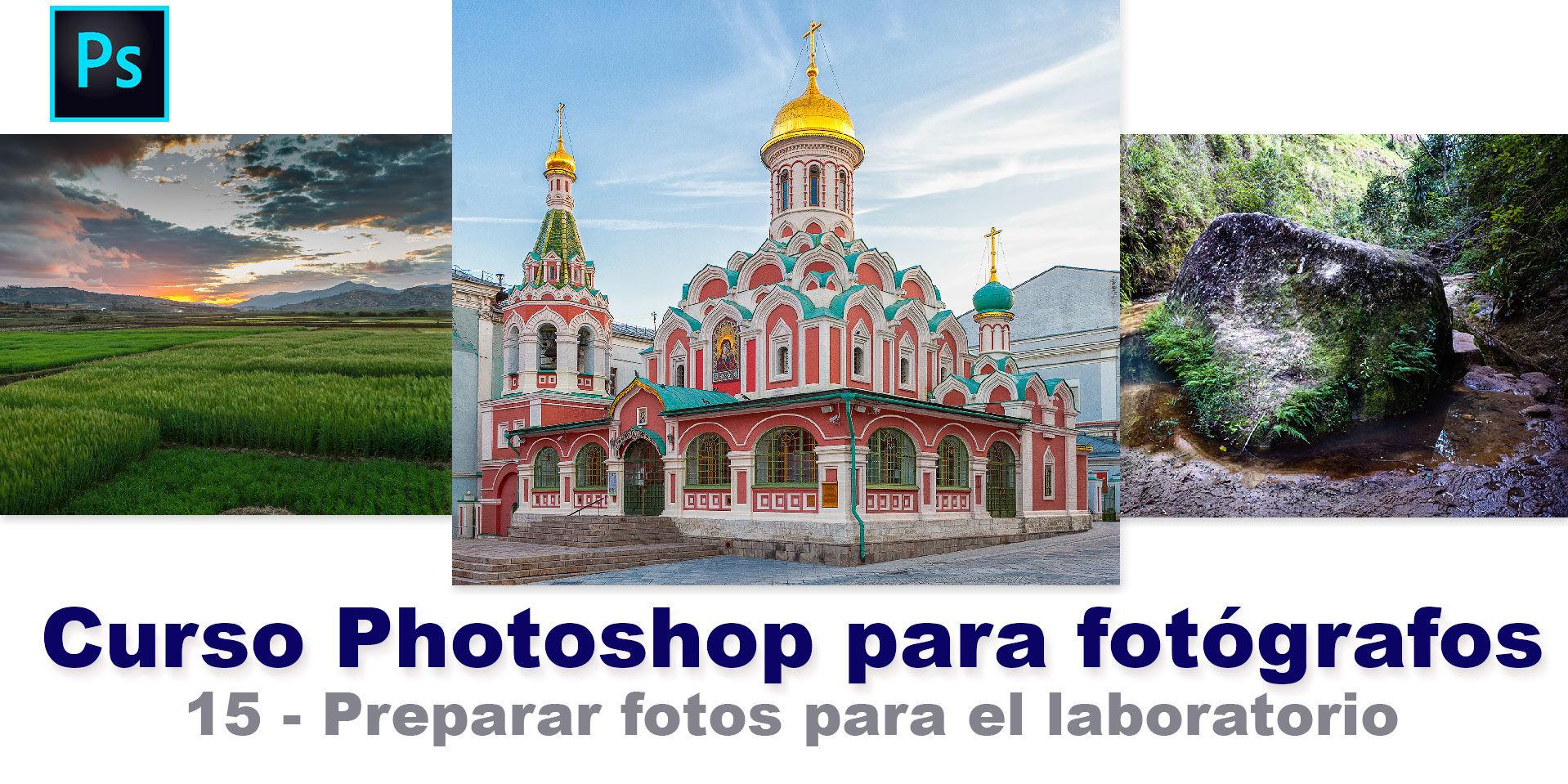 Preparar fotos para imprimir con Photoshop