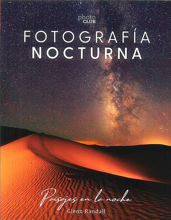 libro fotografía nocturna. Paisajes en la noche