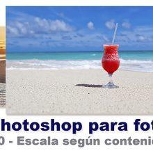 Curso Photoshop 20 - Escala según contenido
