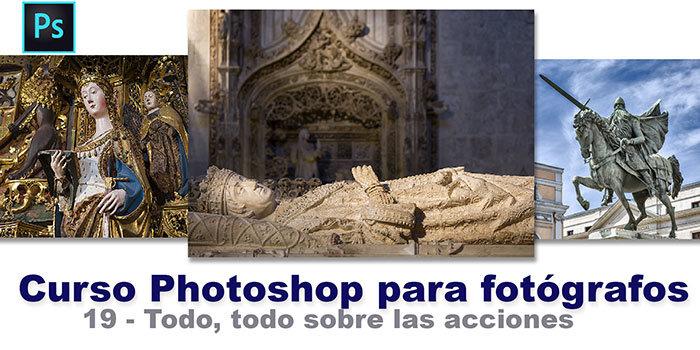 todo sobre las acciones de Photoshop