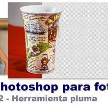 Curso Photoshop 22 - Herramienta pluma