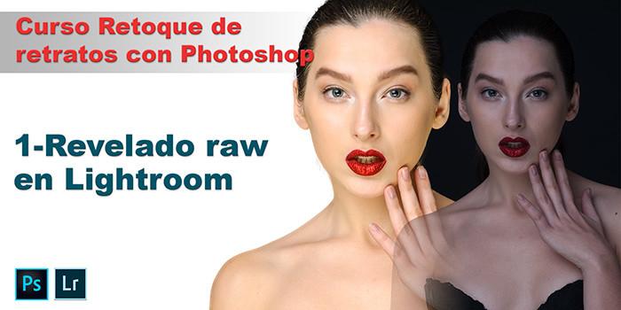 curso de retoque de retratos- revelado raw