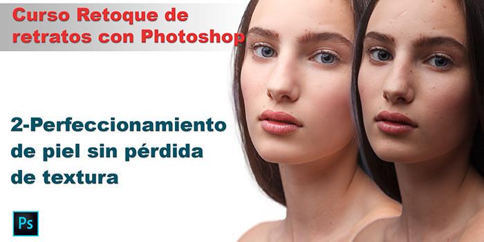 suavizar piel con Photoshop