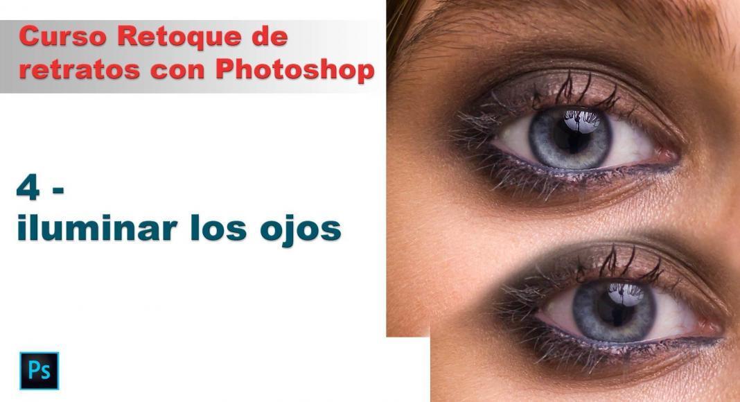 Cómo retocar ojos con Photoshop