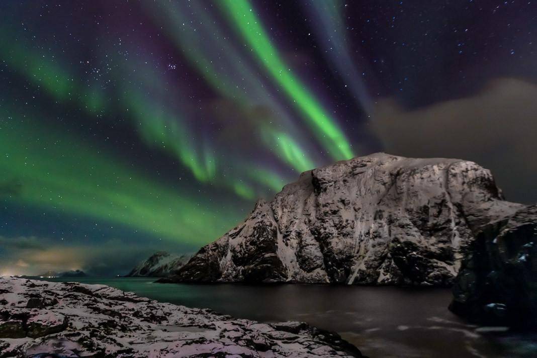 Omnifoto Lofoten-aurora boral