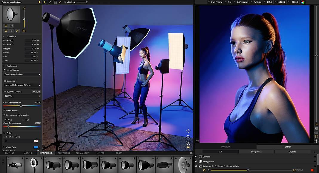 iluminación fotográfica