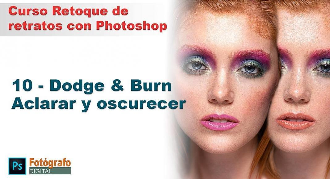 Dodge and burn para retrato